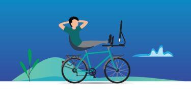 「ロードバイク作法」を読んで、リカバリー&ペダリング練習